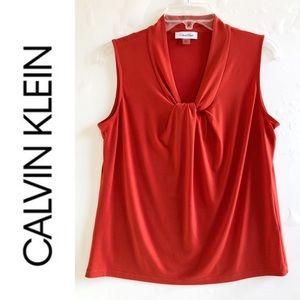 Calvin Klein Sleeveless Top Size Medium